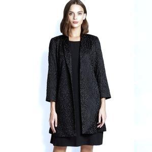 Eileen Fisher | Silk Embroider Kimono Blazer Coat